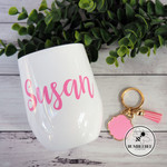 Personalised Swig Tumbler. Coffee Wine