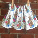 Made to order, high waisted bunny skirt  choose size 1-5