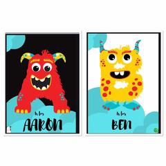 Monster Name   Printable Download