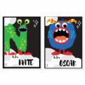 Monster Name Art Prints