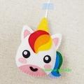Unicorn Tooth Fairy Pillow-Ornament-Home Decor-Bag Charm-Keepsake