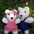 Koala Baby soft toy. Hand knitted softie. Australian gift baby, child.