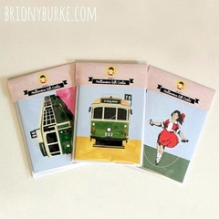 Pack of 3 Melbourne Greeting Cards