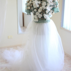 Poetess Tulle Wedding Gown Tailor-Made