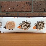 Hedgehog Triangle Pencil Case
