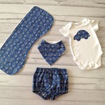 Baby boy outfit, choose size NB to 6 months. baby shower boy