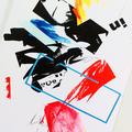 Original art cards, celebration, greeting cards, positive - Sticky Situation