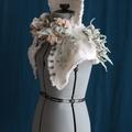 Seafaring Textile Art Wedding Collar Tailor-Made