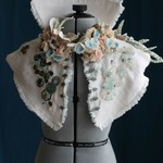 Seafaring Textile Art Wedding Collar Tailor-Made