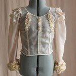 Blush Seafaring Peace Silk Blouse Tailor-Made
