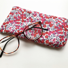 Liberty London Wiltshire glasses / sunglasses case
