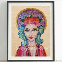Boho Godess Print