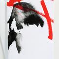 Expressive art, brush strokes, bold design, modern art, greeting card - Brush Up