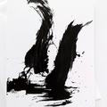 Art card, expressive, brushstrokes, contemporary art, unique design - Incite