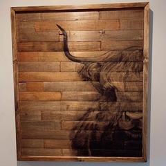 Timber Wall Art - Custom Order