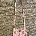Pink ballet cross-body bag