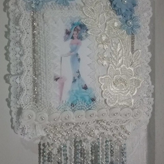 "Wall Decor  ""Blue Lady"""