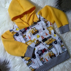 Boys Construction Hoodie