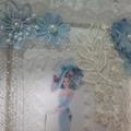 "Wall Decor  ""Blue Lady"""
