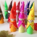 Peg Dolls Forest Friends Gnomes Summer
