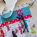 Craft Apron - teachers sewers quilters apron - 4 pockets