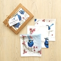 Australian Handkerchief 3 packBlue Wren