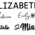 Name Decals