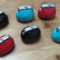 6 Edible purse handbag cupcake toppers.  READY TO SHIP