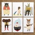 'Animal stories' card set.