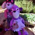 Little miss Purple Monkey