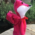 Pink Red Riding Hood Big Bad Wolf