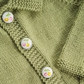 Little Cardigan - Hand knitted - Size 1 - Merino