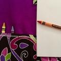 Take along Crayola Crayon drawing set/kit