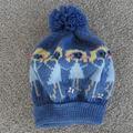 Teenager to adult fairisle hat,  wool, warm, snuggly.