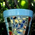 Mosaic Flower Pots - Planter pots - Whimsical