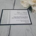 Silver Glitter Wedding Suite