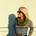 The Red Essy Merino Loop Scarf