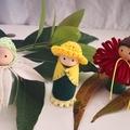 Aussie Bush Babies Forest Friends Peg Dolls