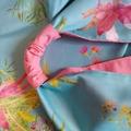 Pink Cockatoo and Waratah Origami Tote Bag