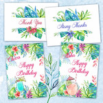 Tropical Delights DIY Card Kit Printables