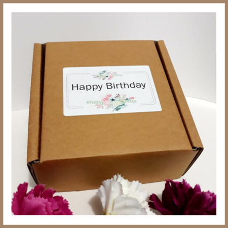 Happy BIRTHDAY Floral Cookie Mix Gift Pack  | A Sweet Birthday Gift