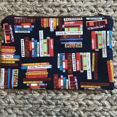 All about books pencil case
