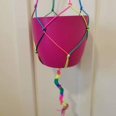 Rainbow Hanging Pot