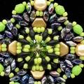 Green Swarovski Rivoli Beaded Pendant Necklace