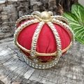 Queen of Hearts Crown - festival or cosplay costume crown hairclip