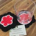 Crocheted coasters- set of 4 - Boldlight