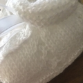 Mittens & Bootee Set- Pure White