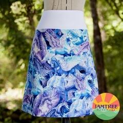 Pegasus Skirt. Ladies sizes 6~24 FREE POST