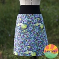 Unicorns & Florals Skirt Tula Pink. Ladies sizes 6~24 FREE POST