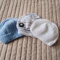 *Special * 3 beanies: (Newborn - 3 mths): Washable, boy